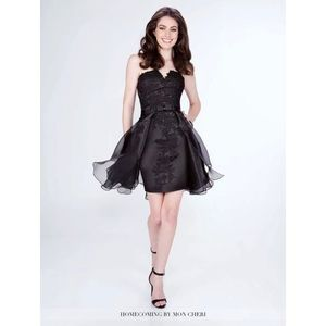 MCS21673 short beaded LBD homecoming prom cocktail